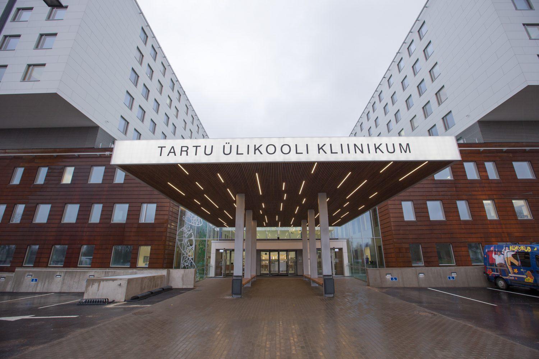 UT151211AT0008  TÜ kliinikumi Maarjamõisa meditsiinilinnaku  II ehitusjärgu avamine L. Puusepa 1a Foto Andres Tennus/Tartu Ülikool