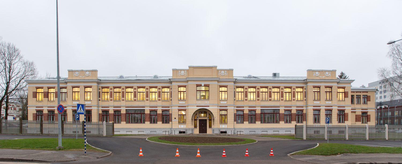 L. Puusepa 6 statsionaarse ja ambulatoorse õendusabi osakondade hoone avamine. Foto Andres Tennus/Tartu Ülikool